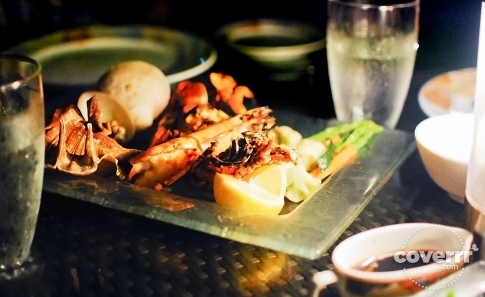 Grilled Seafood Platter Pacific lobster, prawns, mud crab, fish, and clams in a single platter. Php1350